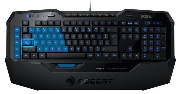 Touches Programmes EasyShift+ #roccat #isku #gaming #clavier