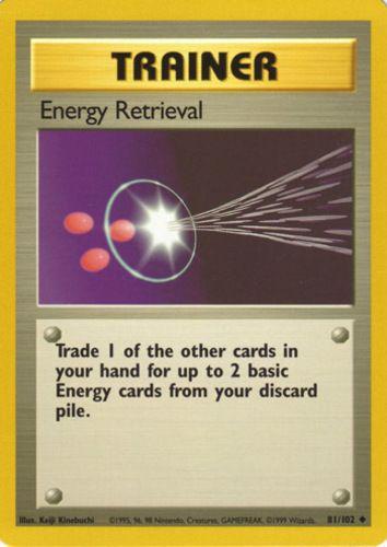 Energy Retrieval hinnat | Pokemon Card hinnat
