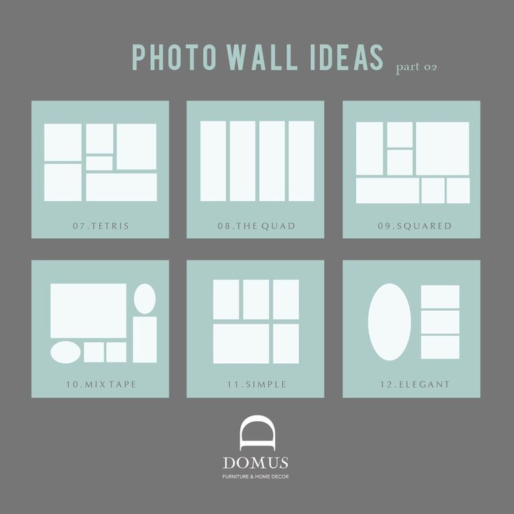 Photo wall ideas part 2