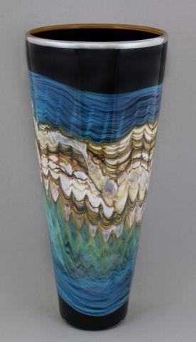 Gartner Blade - Black Sargasso Series - Tapered Vase