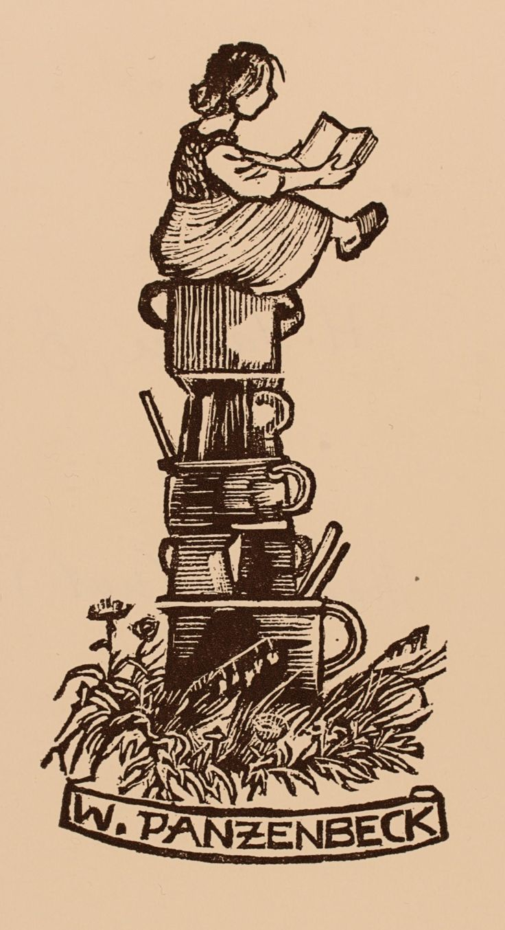 Pin lovi poe for tattoo pictures to pin on pinterest on pinterest - Exlibris By Hans Hauke From Austria For W Panzenbeck Food Wood Engraving Find This Pin
