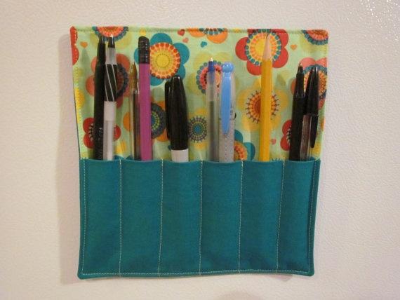 On SALE  Magnetic Pen Holders  great for school lockers by brookiemau, $4.00