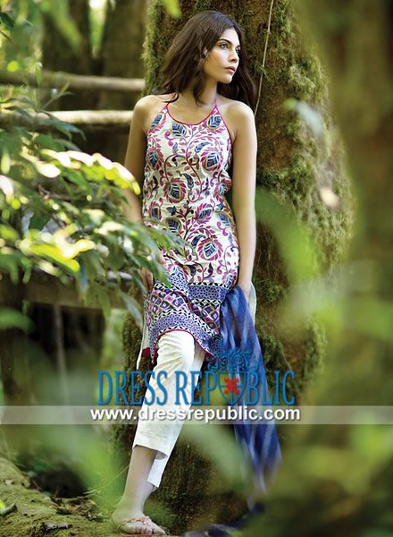 Sana Safinaz Designer Lawn Collection 2014 in United States  Available on Dressrepublic: Sana Safinaz Designer Lawn Collection 2014 in United States at Cheap Prices. Call New York, NY