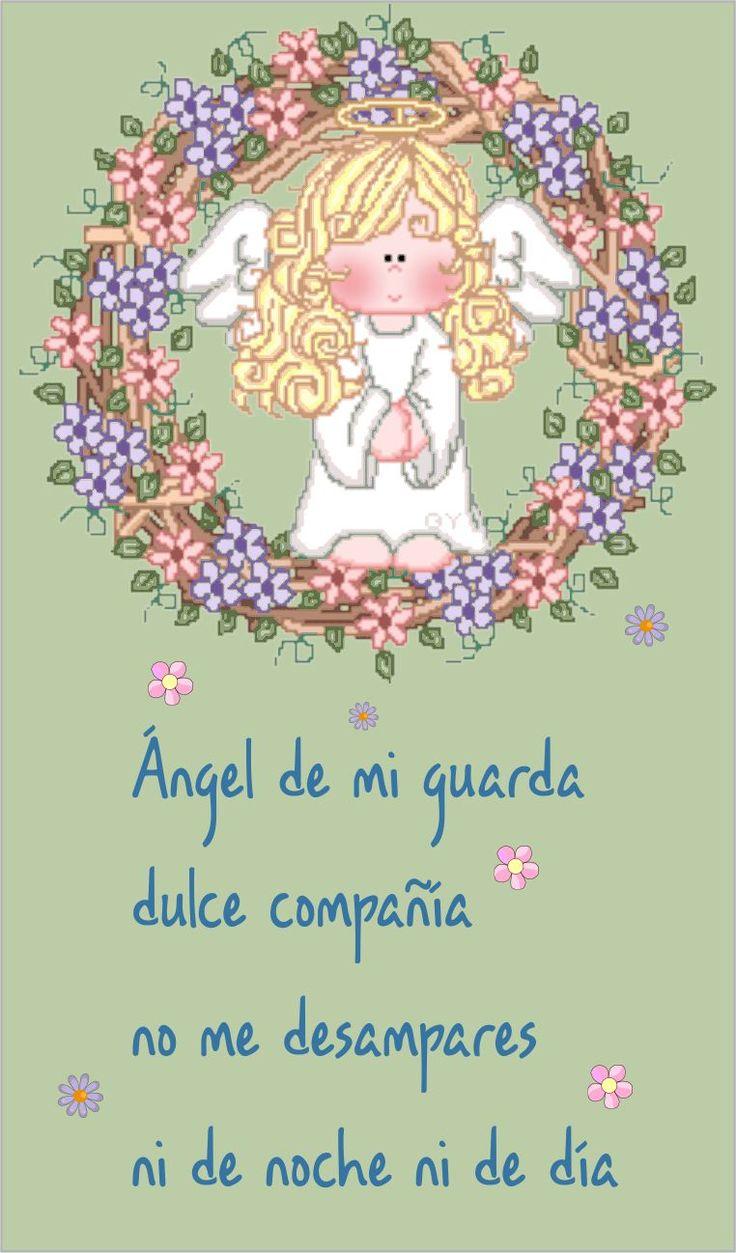 angel dela guarda oracion - Buscar con Google