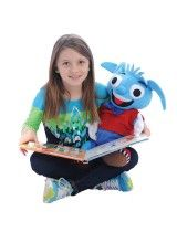 Heavy Herbert is a weighted plush toy and can be used as a weighted lap pad to improve concentration in kids with special needs including autism and ADHD during circle time and homework time. He supports sensory integration, speech and language, fine and gross motor skills and helps kids socialize too!