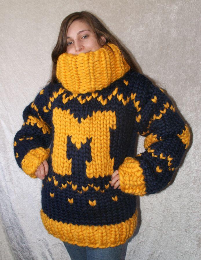 Michigan sweater sheep wool