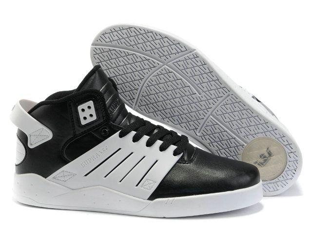 Supra Skytop chaussures iii noir / gris-blanc suède €167.00 €85.00 Economie  :