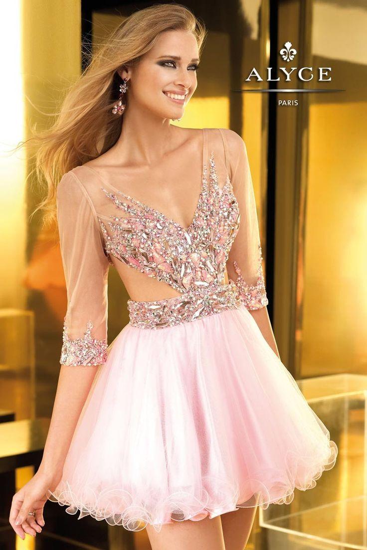 81 besten Pink Dresses Bilder auf Pinterest | Kurze kleider, Sweet ...