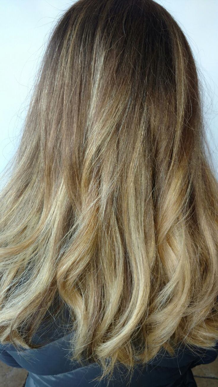 soft blonde balayage highlights  Andrea @ Profilo Day Spa