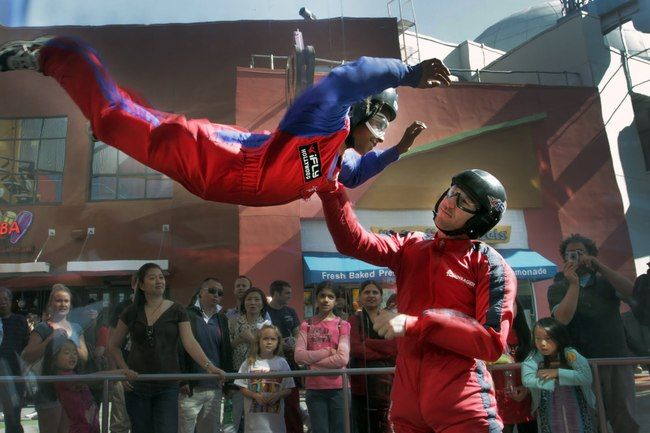 Indoor Skydiving Gift Certificate  Experience the thrill and the rush of skydiving without jumping off a plane
