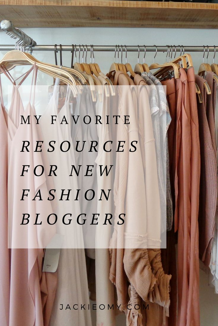 My Favourite Resources For New Fashion Bloggers