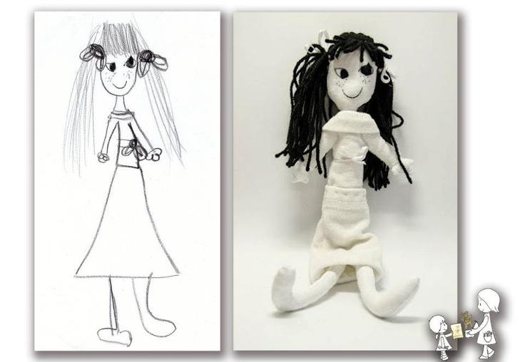 Ezeket pedig már TI rajzoltátok és MI megvarrtuk nektek :) - Te rajzolsz, én varrok