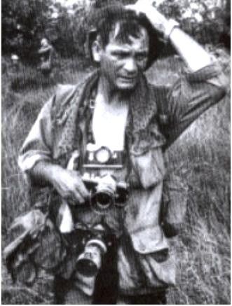 Henri Huet and Larry Burroughs were killed in 1971 when the helicopter they were in was shot down over Laos.