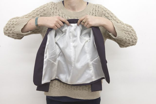 Here it is, my tutorial on how to line a jacket using the 'bagged' method. This jacket lining method gives the most professional results, requires the least amount of hand sewing and is also the ...