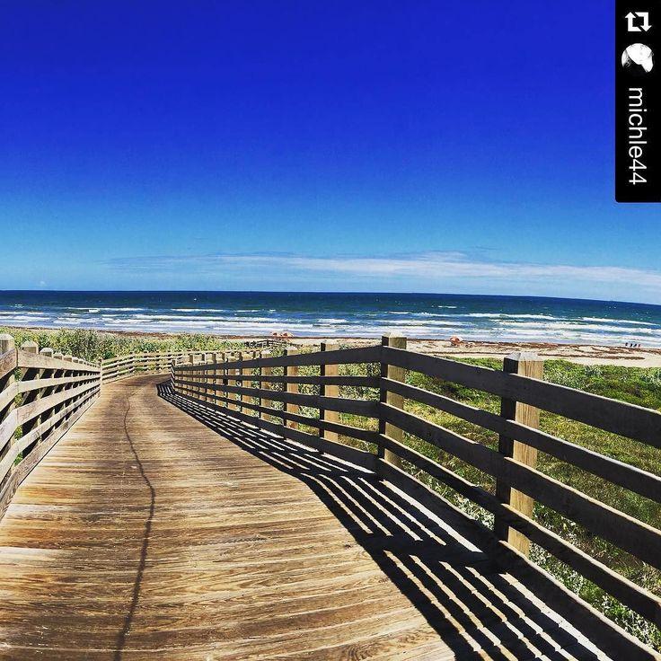 "Mustang Island Beach: Port Aransas, Texas On Instagram: ""It's A Beautiful Day"