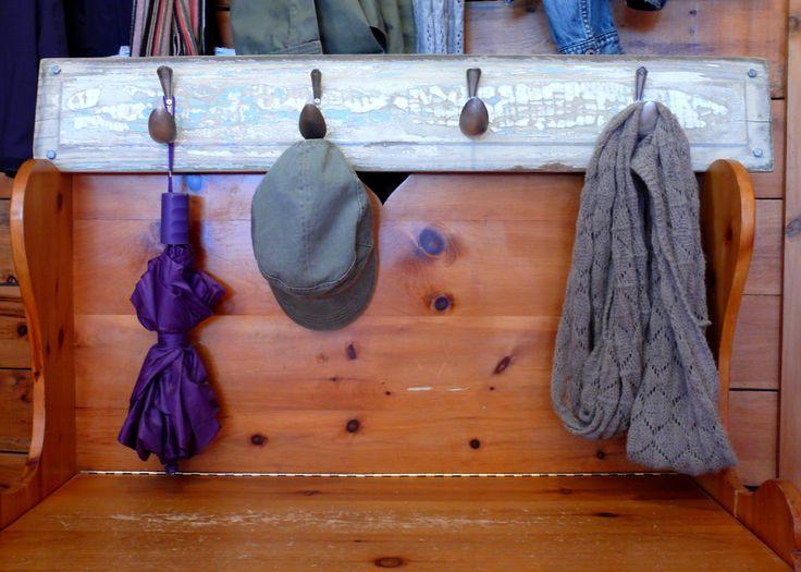 Support à crochets pour vêtements et accessoires de la boutique Recytrucs sur Etsy