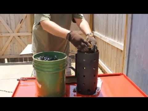 How To Make Lump Charcoal In Your Back Yard