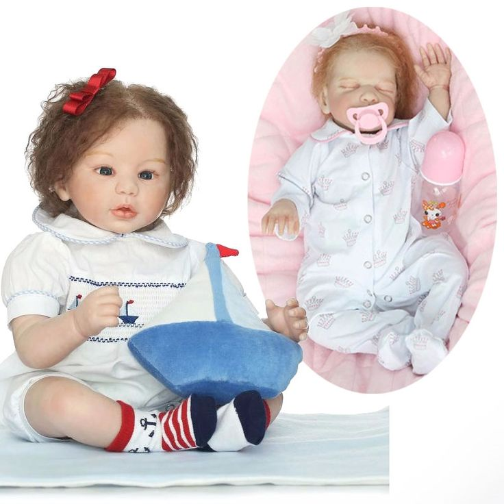 119.29$  Watch here - http://ali20x.worldwells.pw/go.php?t=32772849579 - Wholesale Super Simulation Doll Lifelike Relistic Silicone Reborn Doll Toys Newborn Babies Toys Brinquedos Artificial Eyelashes 119.29$