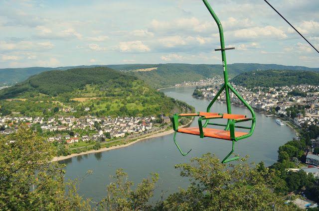 Boppard, Germany Sesselbahn  #travel #adventure #germany