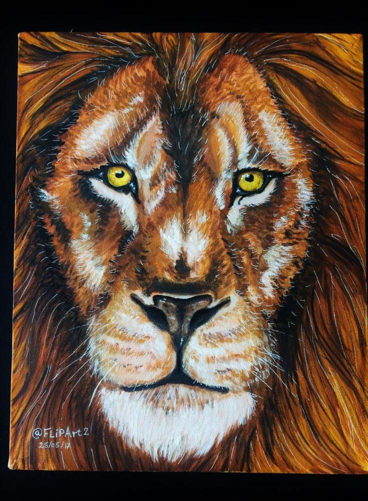 desenho Leão #lion #draw