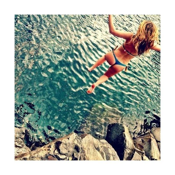 ☁ summer lovin' ❤ liked on Polyvore