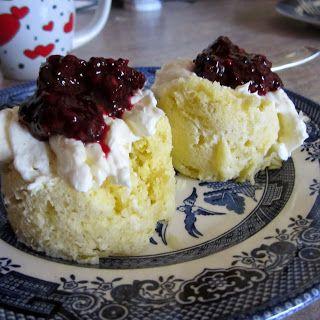Lemon~Coconut Muffin/Cake in a Mug ~S {Trim Healthy Mama, Paleo, GAPS, Dairy Free, SCD, Grain Free, Nut Free}