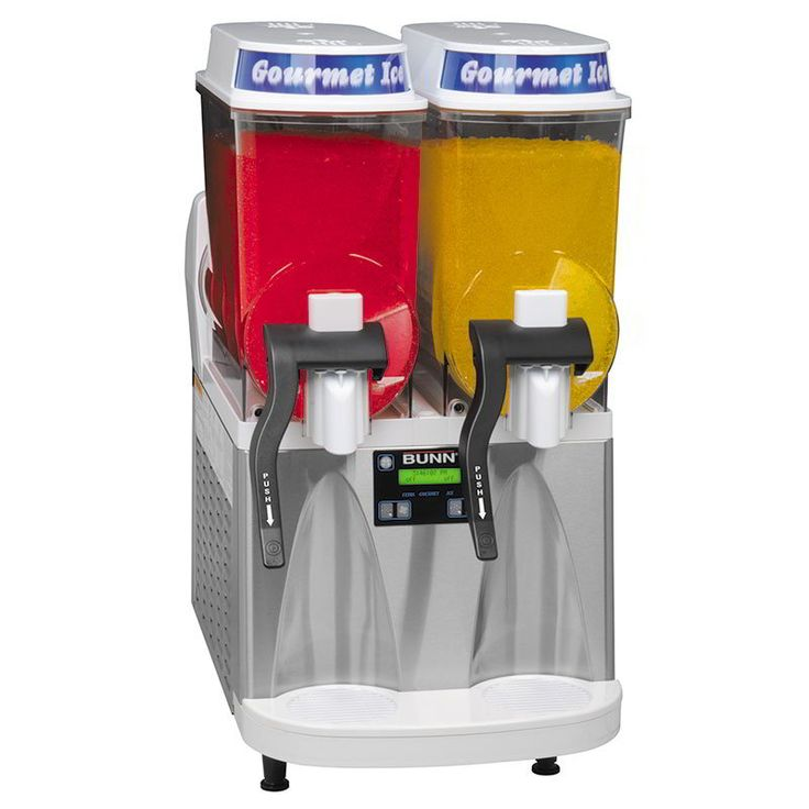Bunn ULTRA-2-0079 Frozen Drink Machine, 2-Hoppers, White/Stainless (34000.0079)