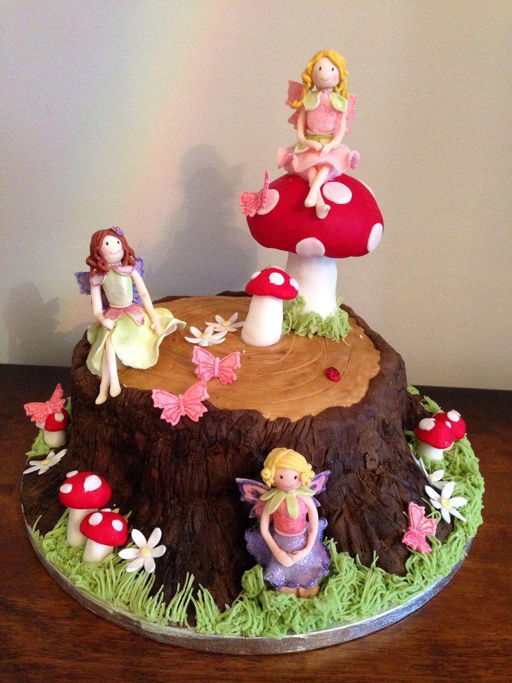 Best 25 Fairy Garden Cake Ideas On Pinterest Fairy