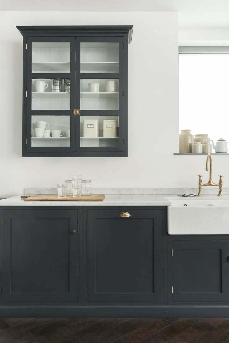 Kitchen cabinets kitchen wall cabinet wide shaker kitchen cabinets - Devol Bespoke Cabinet For Tall Period Kitchens Kitchen Sourcebook Cabinets Washstand And Wall House Free Pictures