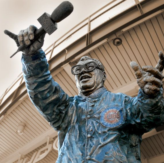 Chicago Cubs Harry Caray Canvas from Wrigley by HolyCowCanvas