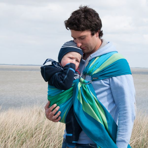 Didymos Baby Wrap Sling Didysling Iris Droolworthy Baby Carriers