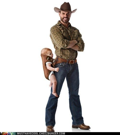 Carry Your Baby... Like a Man