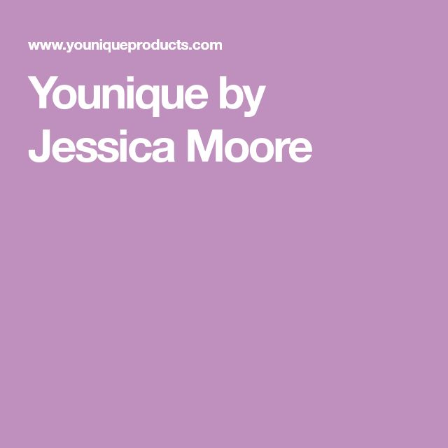 Younique by Jessica Moore