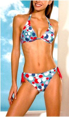 Bikini sewing pattern Caicos - Patrón de bikini Caicos