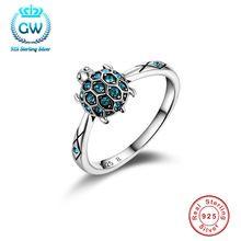 925 sterling zilveren sieraden Schildpad Ring Wedding & Engagement Mode Ringen Voor Vrouwen Promotie 50% Off Ripy013(China (Mainland))