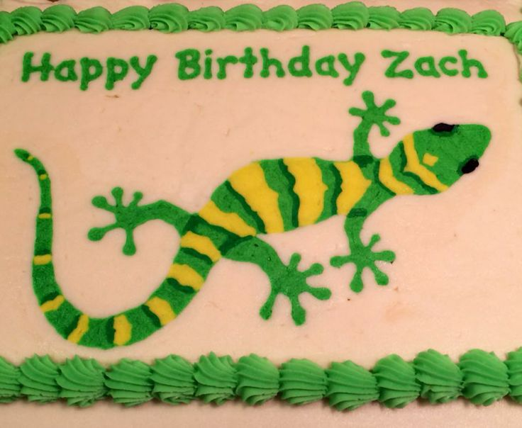 7 best images about gecko party on pinterest salamanders treat lizard gecko frozen buttercream transfer design by janice pullicino fbct pronofoot35fo Choice Image