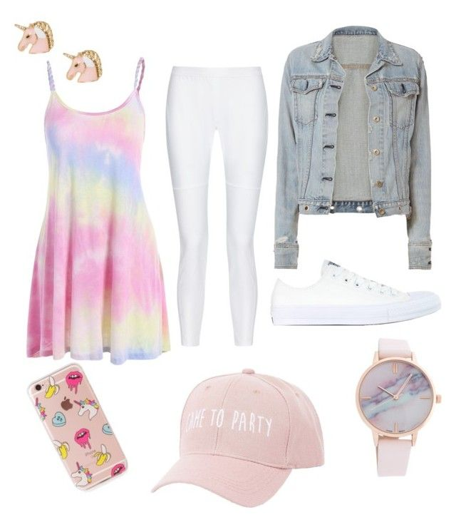 """Cute"" by grekke on Polyvore featuring 10 Crosby Derek Lam, rag & bone, Converse, Charlotte Russe and The Casery"