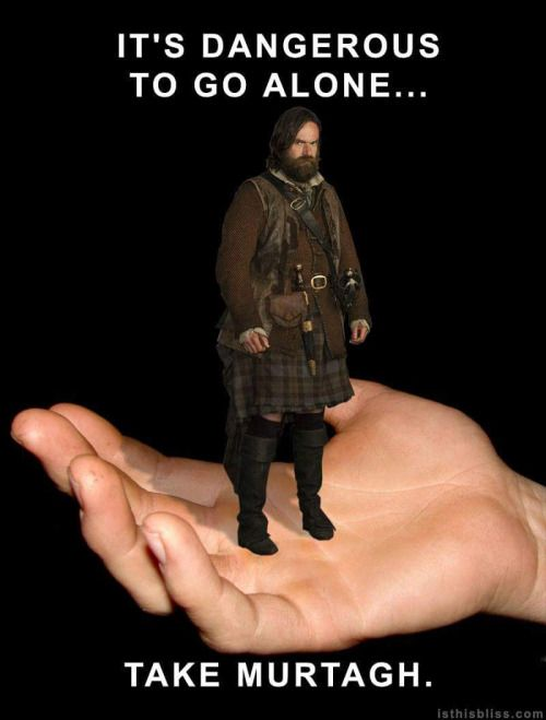 Thanks to the awesome Lorina at isthisbliss.com for the tribute to ALWAYS TAKE A MURTAGH.