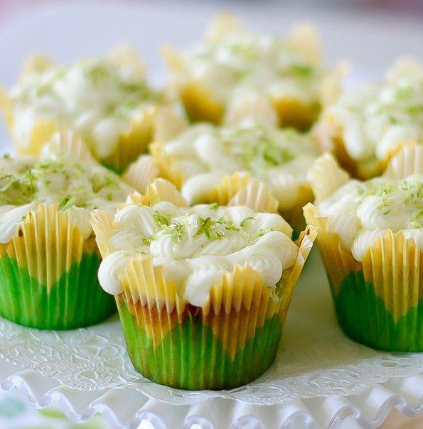 Key lime cupcakes | Yummy! | Pinterest