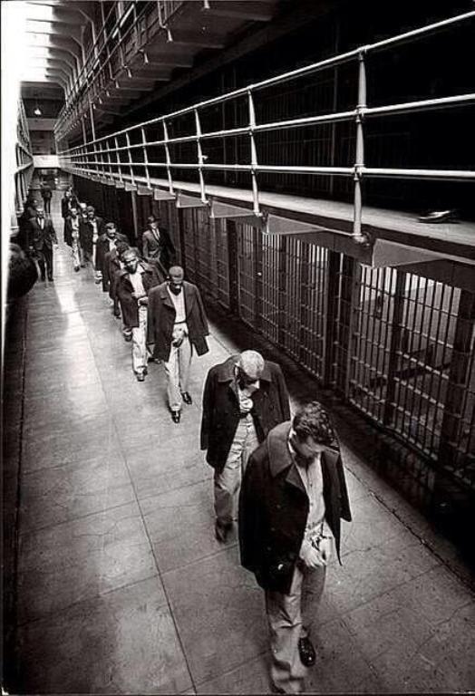Los últimos prisioneros de Alcatraz.