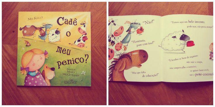 Um livro pra rir muito com os pequenos e deixar mais leve qualquer desfralde!
