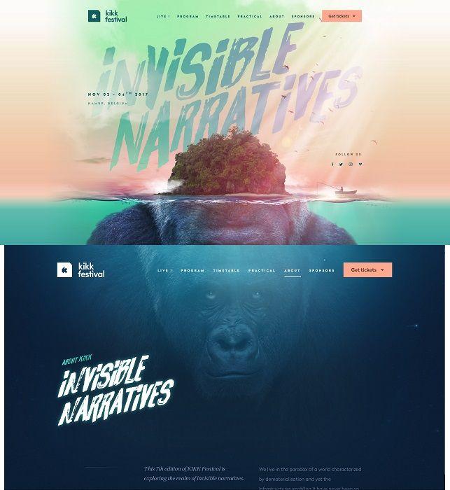 #CoverStories 10 November 2017 — thoughtfulness in design — Kikk Festival — Invisible Narratives (Belgium), November, 2017.