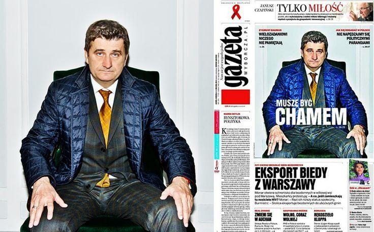 Janusz Palikot See how to take a front page photo. Zobacz jak zrobić zdjęcie na okładkę #palikot