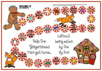 Gingerbread Games for Articulation