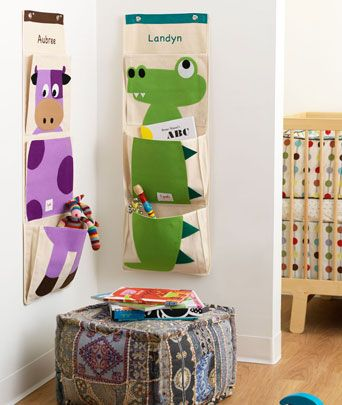 Hanging craft, toy or book storage - so cute!: Idea, Crocodiles, Hanging Wall, Sprouts Wall, Organizers, 3 Sprouts, Baby, Wall Organizations, Kids Rooms