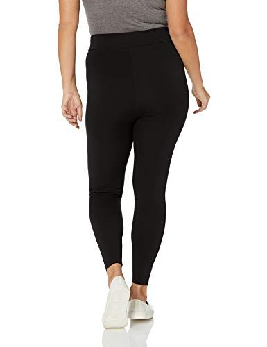 79720b20075 Daily Ritual Women s Plus Size Ponte Knit Legging