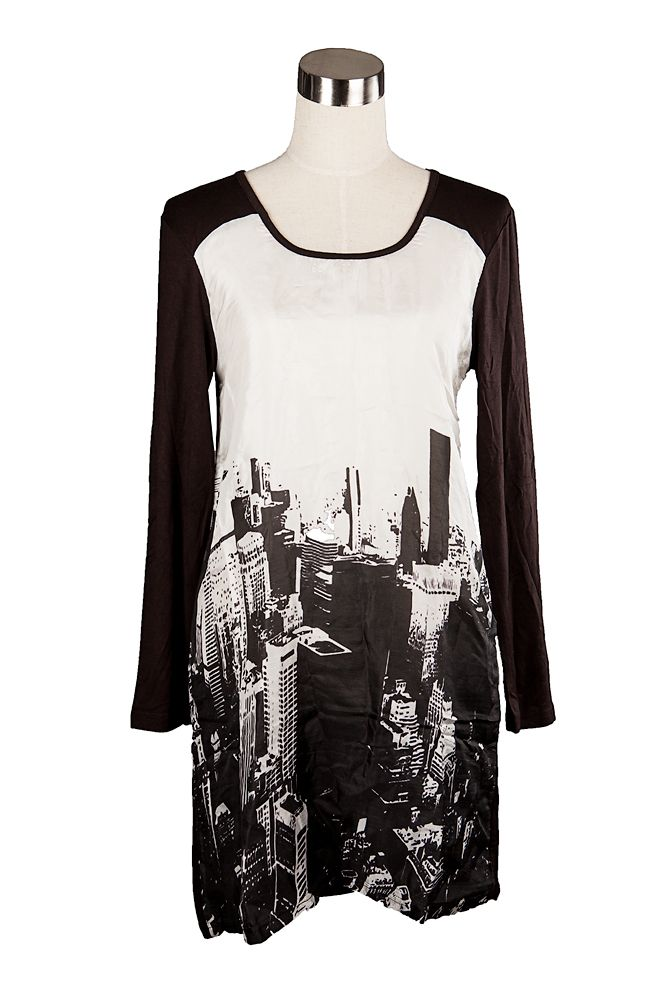 OOh I love this City Scape Tunic from Morgan Marks, grab it online with free shipping at sweetjojos.com.au