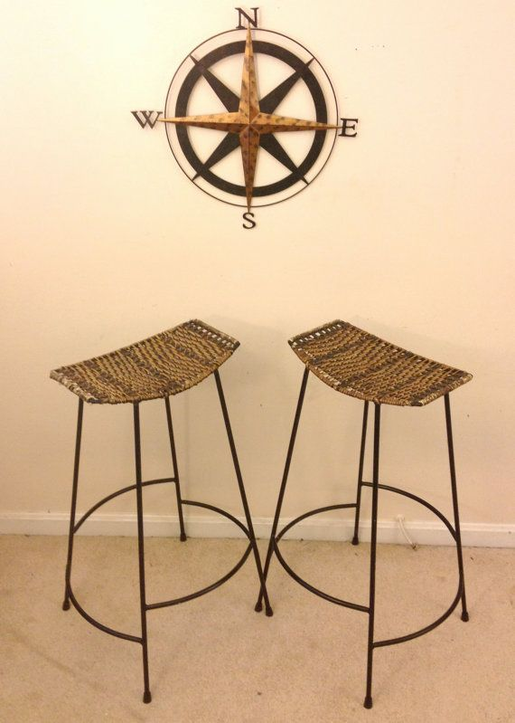 Pair Of Midcentury Arthur Umanoff Bar Stools By