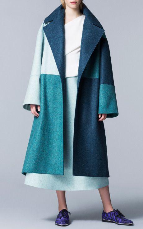 Multi Helston Coat by Roksanda Ilincic for Preorder on Moda Operandi