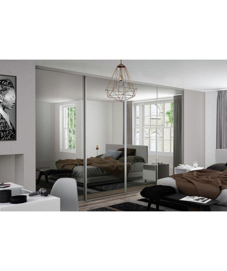 Buy Spacepro Kits 4x30in Classic White Mirror Doors at Argos.co.uk - Your Online Shop for Sliding wardrobe doors.
